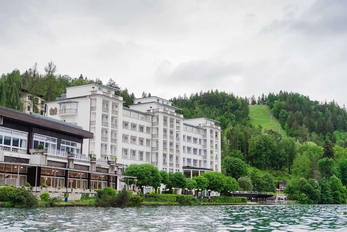 Weddings in Slovenia - civil ceremony at Grand hotel Toplice