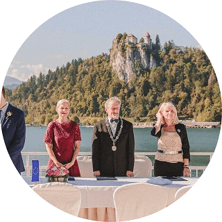 Weddings in Bled - civil wedding 2